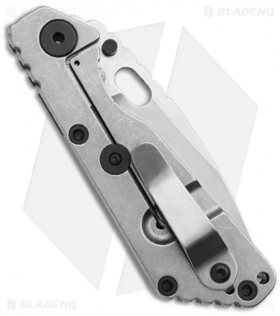 "Strider SnG Frame Lock Knife Black G-10 (3.5"" Stonewash)"