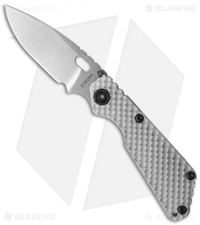 "Strider SnG GG Spear Point Knife Gray G-10 (3.5"" Stonewash)"