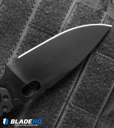 "Strider Starlingear SnG Knife Dimpled Black G-10 (3.5"" Black)"