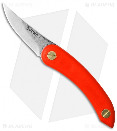 "Svord Thwitel Replica Whittling Knife Titanic Orange Polypropylene (2.5"" Satin)"