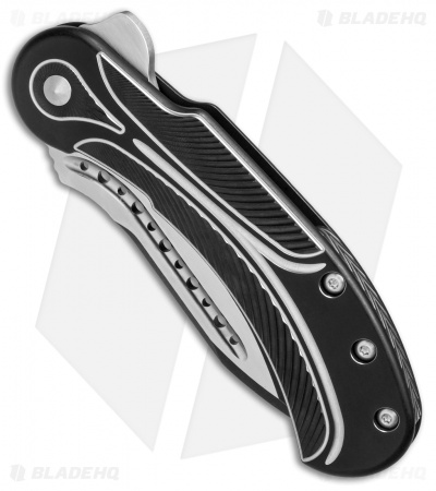 "Todd Begg Steelcraft Series Field Marshall Knife Black/Silver Ti (4"" Two-Tone)"