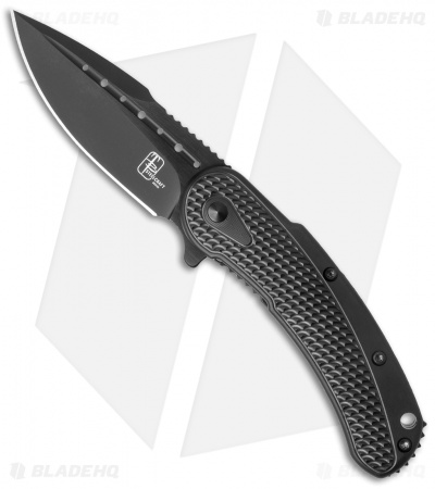 "Todd Begg Steelcraft Series Mini Bodega Knife Black Titanium (3"" Black)"