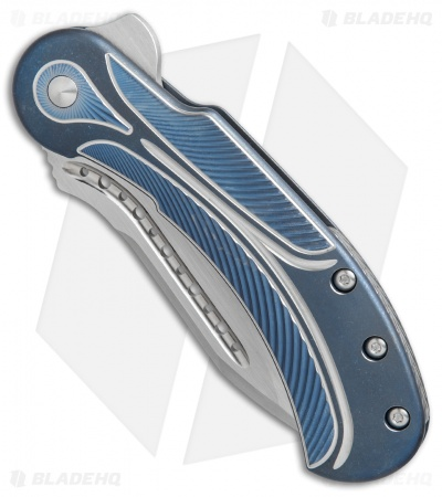 "Todd Begg Steelcraft Series Field Marshall Knife Blue/Silver (4"" Satin)"