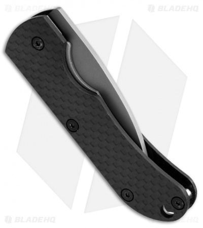 "Vargo Ti-Carbon Liner Lock Knife Carbon Fiber (2.25"" Two-Tone)"