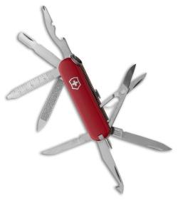 Victorinox Swiss Army Knife Minichamp Red 53973 Blade Hq