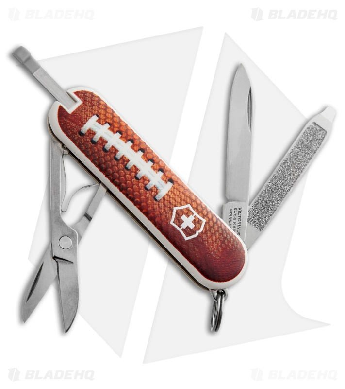 Victorinox Swiss Army Classic Knife Football 530073 Blade Hq