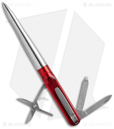 Wagner Spectrum Swiss Pen w/ Victorinox Multi-Tool (Red) SP-102