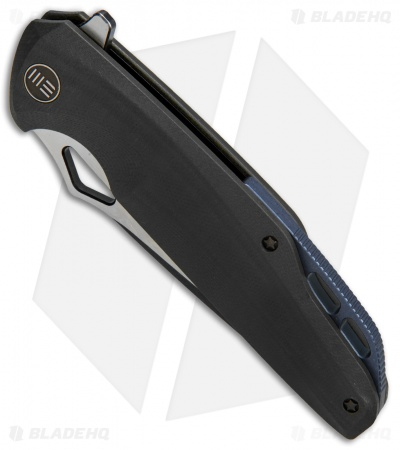 "WE Knife Co. 706E Liner Lock Knife Black G-10 (4"" Black Stonewash)"