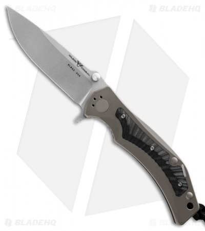 "Wilson Tactical Combat RRX Rapid Response XL Knife Black G-10 (3.5"" Stonewash)"
