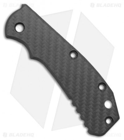 Zero Tolerance 0550/0551 Flat Carbon Fiber Replacement Scale by The Preacher