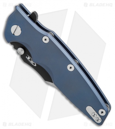 "Zero Tolerance Rick Hinderer 0392BLUBOWIE Factory Custom Knife (3.5"" Two-Tone)"