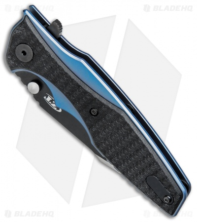 "Zero Tolerance Hinderer 0393 Frame Lock  Knife Black G-10 (3.5"" Two-Tone) ZT"