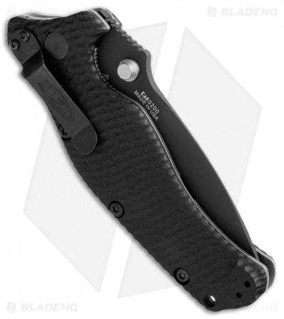 "Zero Tolerance 0200 Liner Lock Knife Black G-10 (4"" Black) ZT"