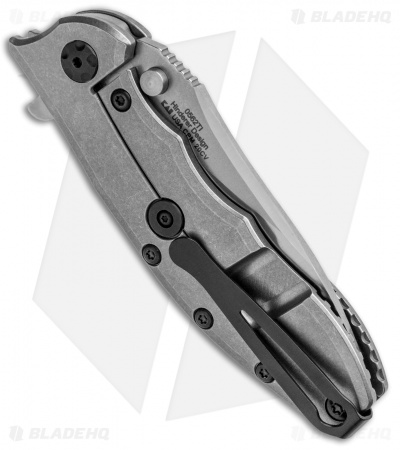 "Zero Tolerance 0562TI Hinderer Frame Lock Knife Titanium (3.5"" Satin 20CV) ZT"