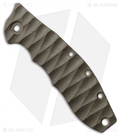 Zero Tolerance 0562 OD Green Canvas Micarta Replacement Scale by The Preacher