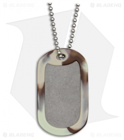 The Original Dog Tag Knife - Titanium (Camo)