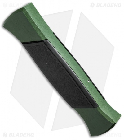 "AKC 777 Blackfinger OTF Automatic Knife Green/Black (3.375"" Satin Flat)"