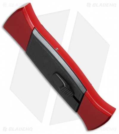 "AKC 777 Blackfinger OTF Automatic Knife Red/Black (3.375"" Satin Flat)"