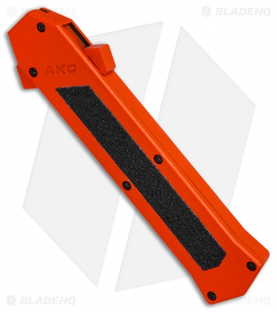 "AKC F-16 D/A Bayonet OTF Automatic Knife Orange (3.3"" Satin)"