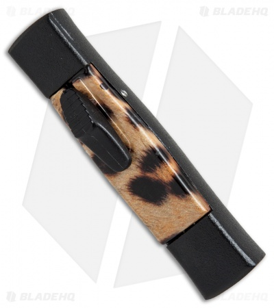 "AKC Minion Concord OTF Automatic Knife Cheetah (2.3"" Black Flat Grind)"