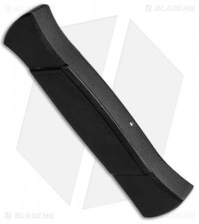 "AKC 777 Blackfinger OTF Automatic Knife Black (3.375"" Black Flat)"