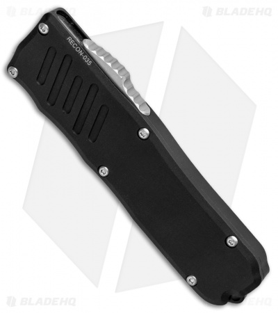 "Guardian Tactical RECON-035 D/A OTF Auto Knife (3.3"" Two-Tone Serrated) 93212"