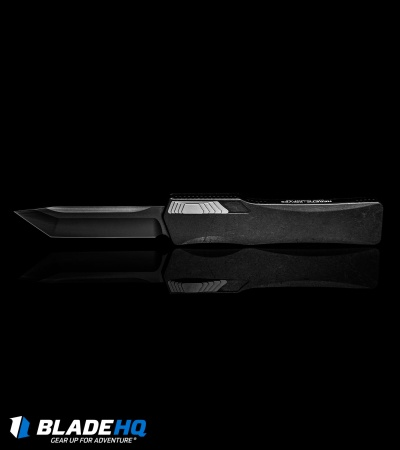 "Heretic Knives Cleric Tanto OTF Automatic Knife Black DLC (3.5"" Black)"