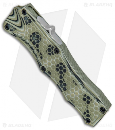 "Hogue Knives OTF Automatic Knife Green G-Mascus (3.375"" Stonewash)"