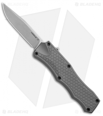 "Hogue Knives OTF Automatic Knife Gray (3.375"" Stonewash) 34012"