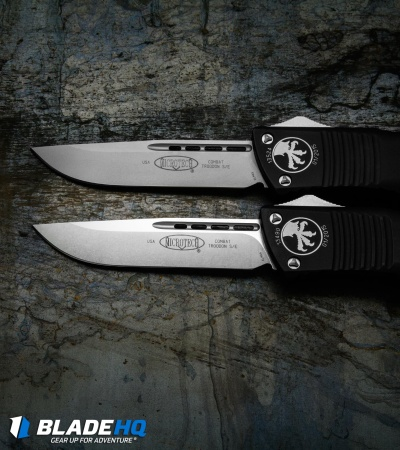 "Microtech Combat Troodon S/E OTF Automatic Knife (3.8"" Bead Blast) 143-7"