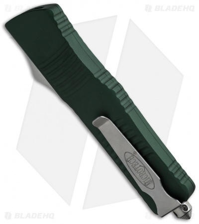 "Microtech Combat Troodon D/E OTF Automatic Knife Green (3.8"" Two-Tone) 142-1OD"