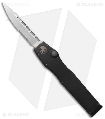 "Microtech Halo II 2 OTF Automatic Knife (4"" Satin Serr) 07/2005"