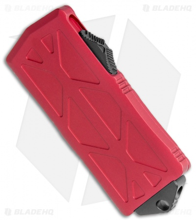 "Microtech Exocet Tanto CA Legal OTF Automatic Knife Red (1.9"") 158-1RD"