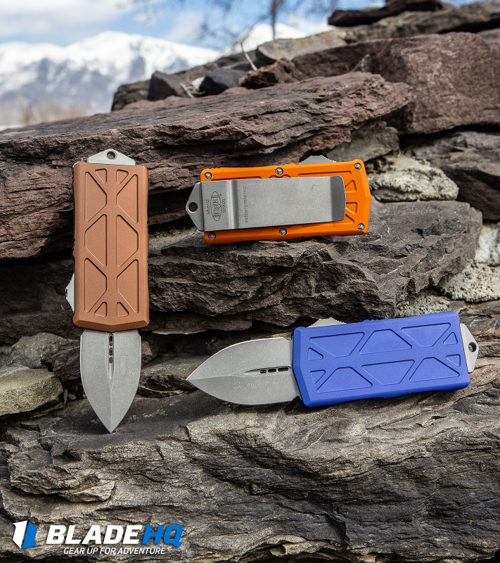 Assorted Colors of Microtech Exocet Knives