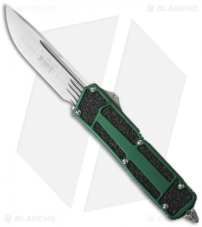 "Microtech Navy Scarab Underwater S/E OTF Knife Tritium Green (3.5"" Satin)"
