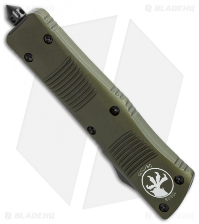 "Microtech Troodon S/E OTF Automatic Knife OD Green (3"" Black) 139-1OD"
