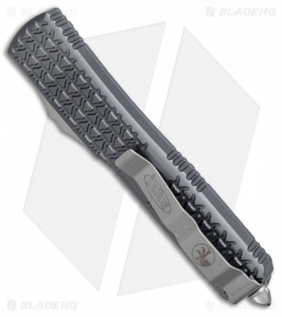 "Microtech Ultratech Spartan OTF Automatic Knife Tri-Grip Gray (3.4"" Apocalyptic)"