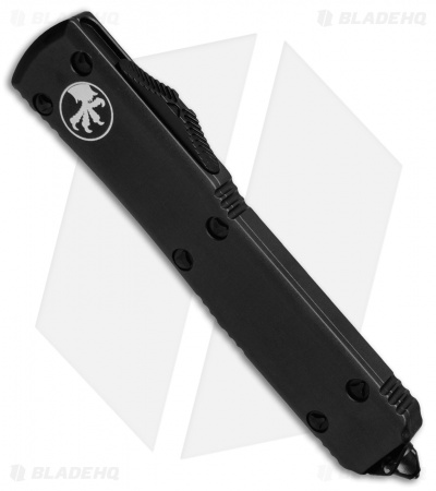 "Microtech Ultratech OTF Knife Tactical D/E (3.4"" Black Serr) 122-2T"