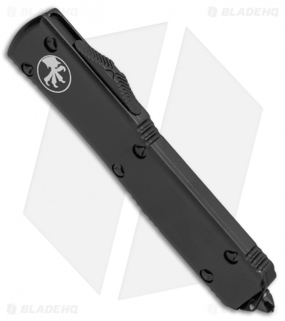 "Microtech Ultratech T/E OTF Auto Knife CC (3.4"" Black Full Serr) 123-3T"