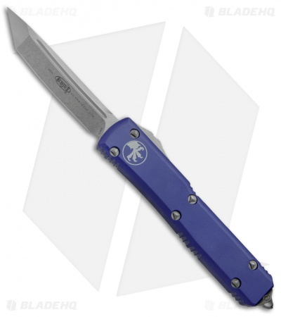 "Microtech Ultratech T/E OTF Automatic Knife CC Purple (3.4"" Stonewash)"