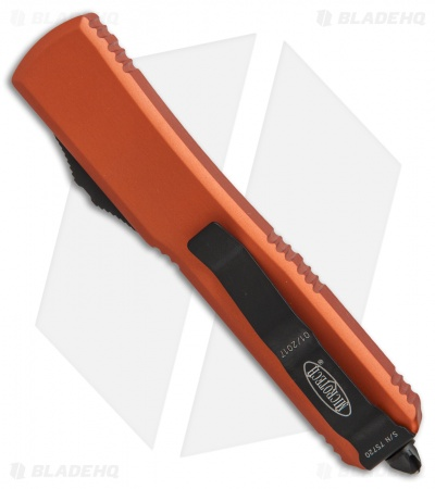 "Microtech Ultratech S/E OTF Automatic Knife Orange CC (3.4"" Black)"