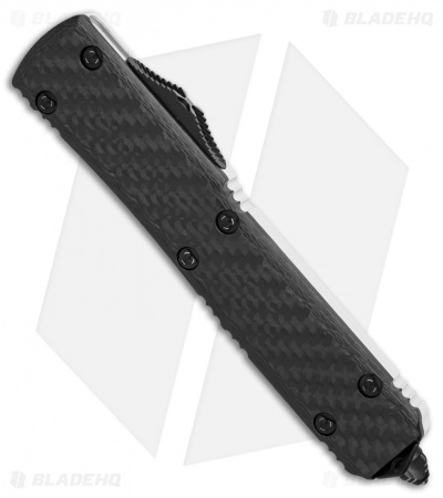 "Microtech Ultratech Storm Trooper D/E OTF Auto Knife Carbon Fiber (3.4"" White)"