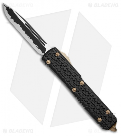 "Microtech Ultratech Katana S/E OTF Automatic Knife Tri-Grip (3.4"" Black) 121-1KA"