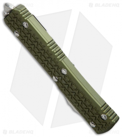 "Microtech Ultratech S/E OTF Automatic Knife Tri-Grip OD Green (3.4"" SW)"