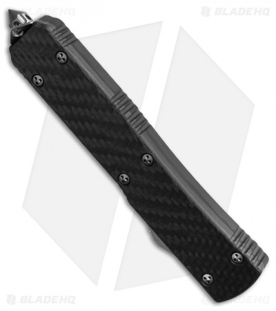 "Microtech Ultratech S/E OTF Knife Carbon Fiber (3.4"" Black) 121-1CF"