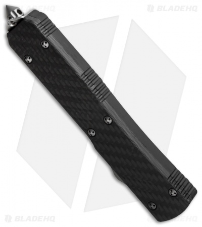 "Microtech Ultratech Spartan OTF Knife Carbon Fiber (3.4"" Apocalyptic)"