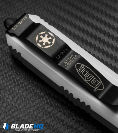 "Microtech Ultratech Storm Trooper Knife (3.4"" White) 121-1ST Jedi"
