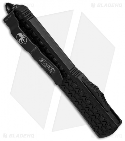 "Microtech Ultratech S/E OTF Automatic Knife Tri-Grip (3.4"" DLC Black) 121-1T"