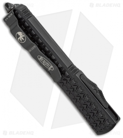 "Microtech Ultratech D/E OTF Automatic Knife Tri-Grip Tactical (3.4"" Black)"