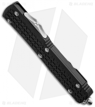 "Microtech Ultratech D/E OTF Automatic Knife Tri-Grip (3.4"" Bead Full Serr)"